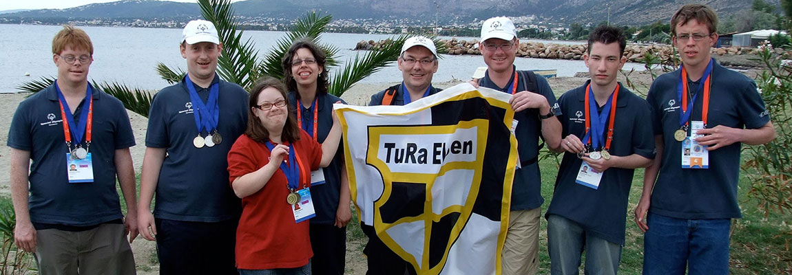 Special Olympicssieger aus Athen (2010)