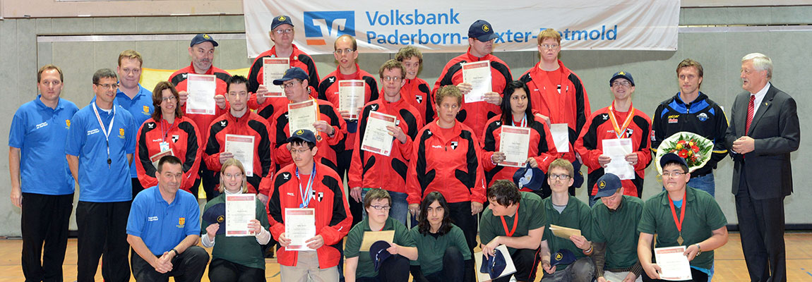 Special Olympics Ehrung durch die Stadt Paderborn (2012)