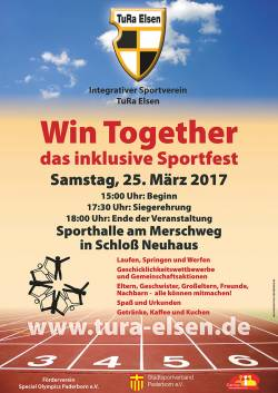 Plakat Win Together 2017